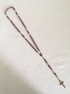 ancien Chapelet XXeme perles