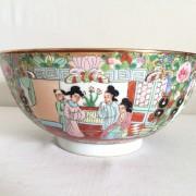 Coupe en porcelaine de Chine Canton - XXeme