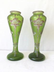 Paire de Vases ART NOUVEAU LEGRAS ?
